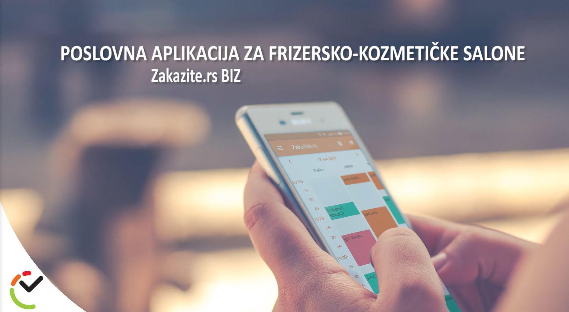 Aplikacija za zakazivanje usluga